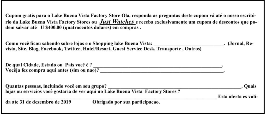 Lake Buena Vista Factory Stores
