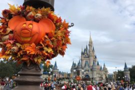 Datas do Halloween Disney 2019