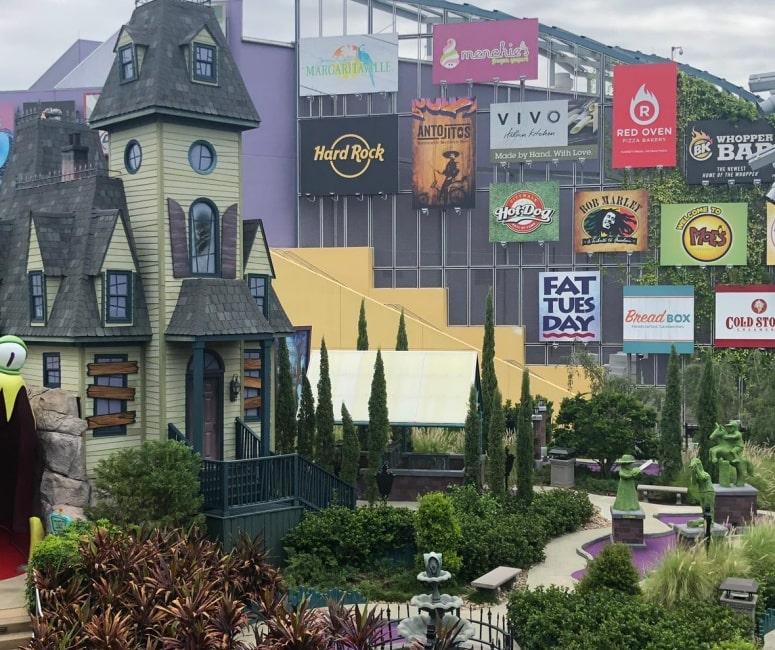 Parque de diversão Citywalk Universal, Orlando, Estados Unidos