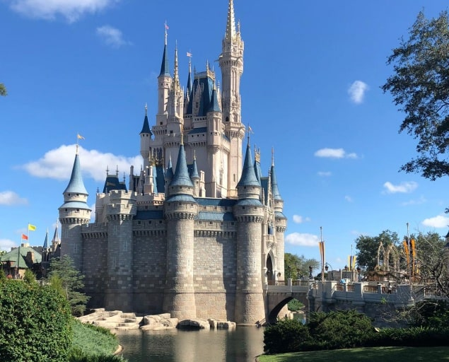 o Parque Magic Kingdom na Disney Orlando