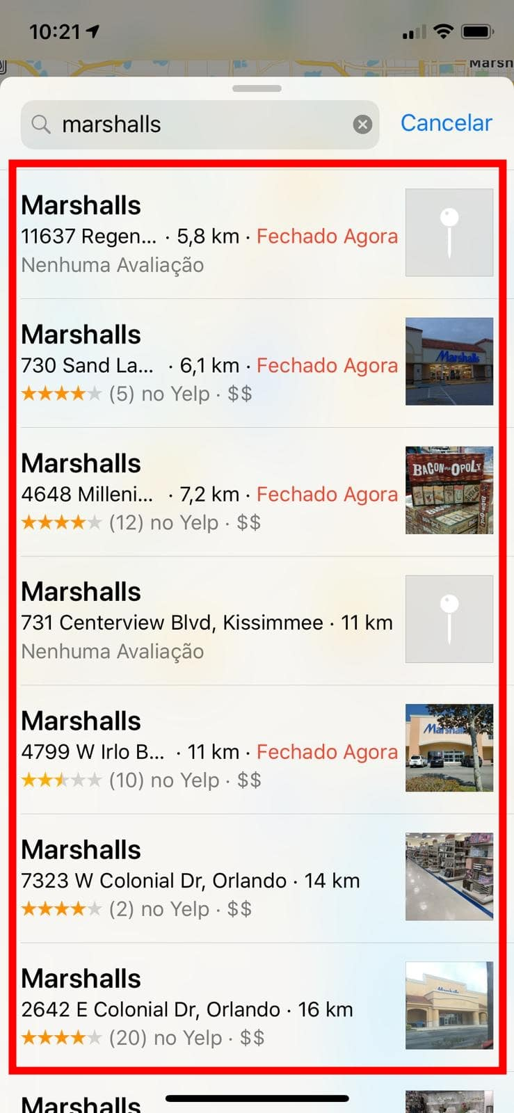 Dicas de Como Localizar Lojas e Lugares