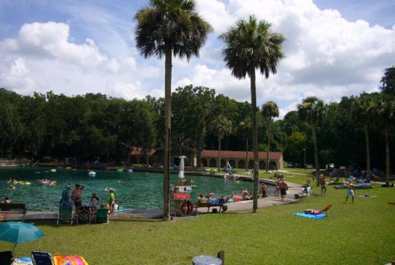 Spring proximo de Orlando - Leon Springs State Park