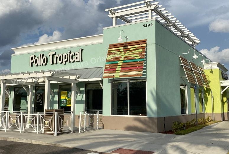 Pollo Tropical - Viajando Barato para Orlando