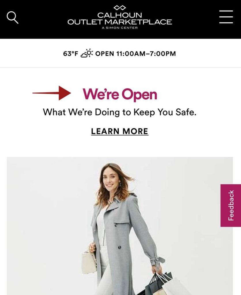 Outlets e Shoppings Anunciam Quando será sua Reabertura