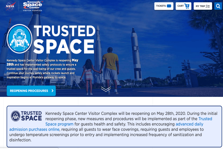 Kennedy Space Center Divulga Data de Reabertura