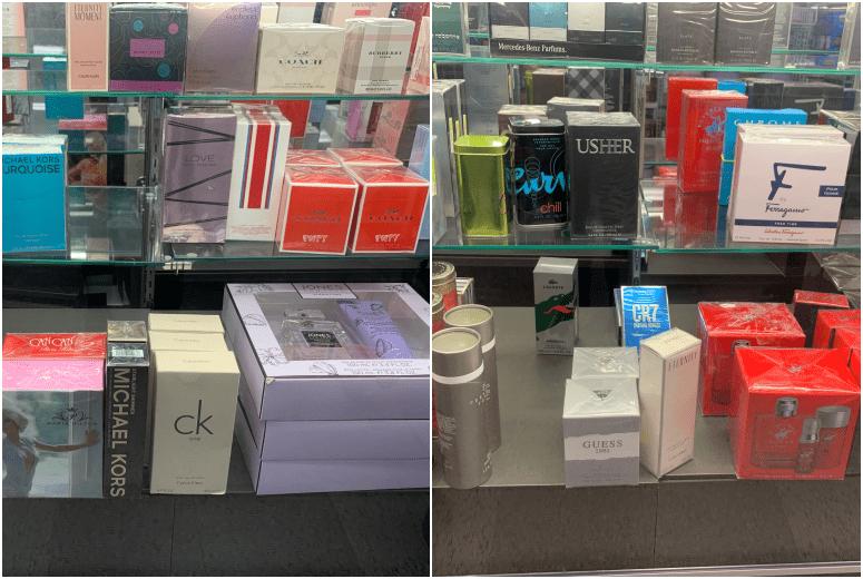 perfumes na Ross