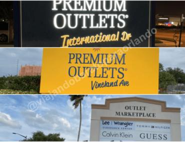 Lojas do Outlet Premium de Orlando