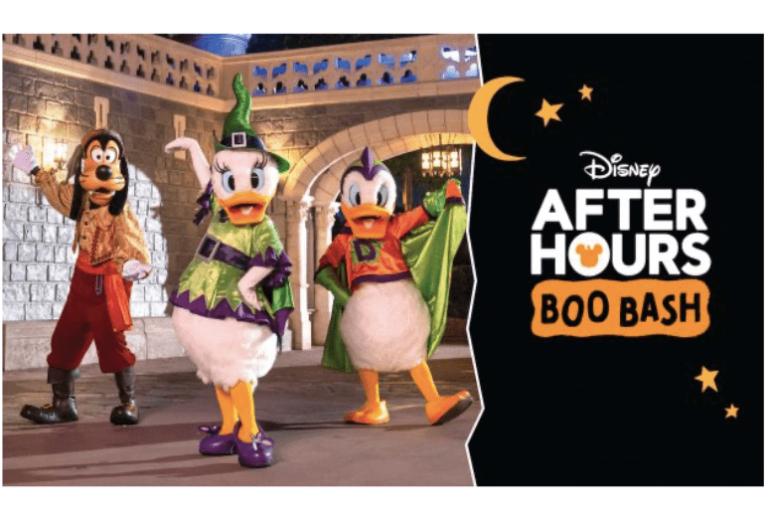 Halloween Disney 2021 - Disney After Hours BOO BASH